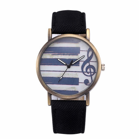 Image of Retro Musical Note Watch - tickersnspecs