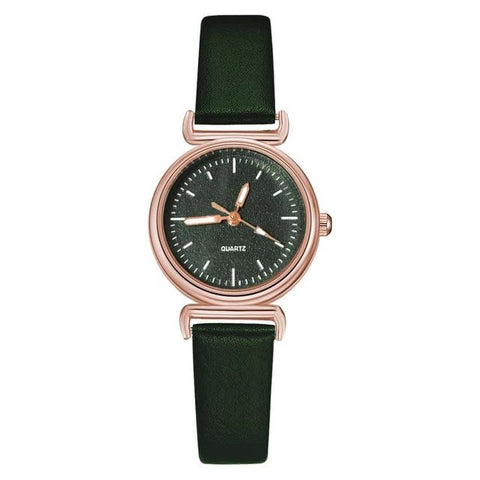 Image of Sweet Times Leather Watch - tickersnspecs