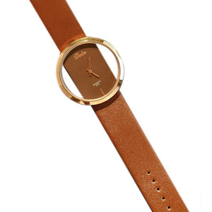 Elated Class Leather Watch - tickersnspecs
