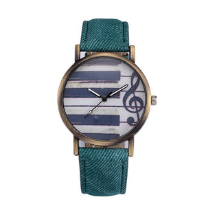 Retro Musical Note Watch - tickersnspecs