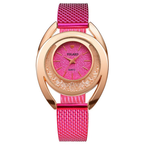 Image of Elated Glamour Steel Watch - tickersnspecs