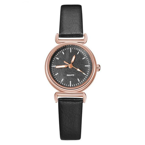Sweet Times Leather Watch - tickersnspecs
