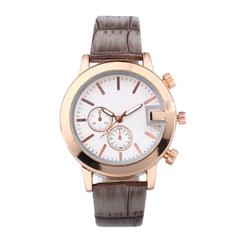 Image of Quiet Star Leather Watch - tickersnspecs