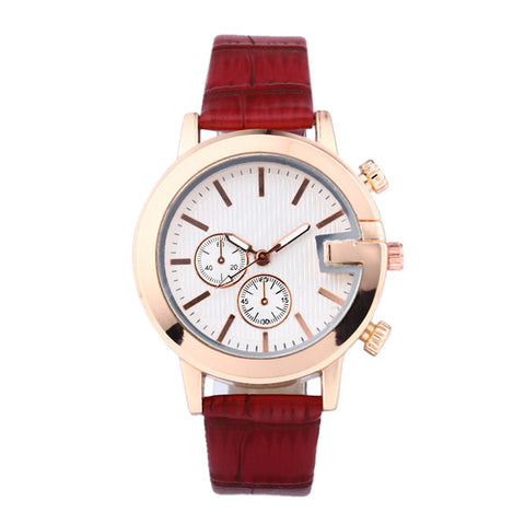 Quiet Star Leather Watch - tickersnspecs