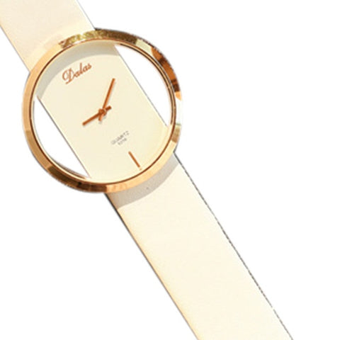 Image of Elated Class Leather Watch - tickersnspecs