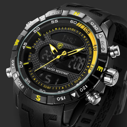 Sand Shark Sport Watch - tickersnspecs