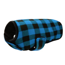 Winter fleece dog coats