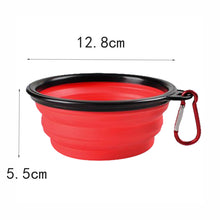1PC Folding Silicone Dog Bowl