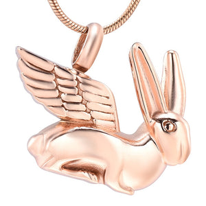 Lop Rabbit Cremation Jewelry,