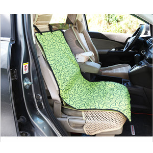 Car seat cover for pets