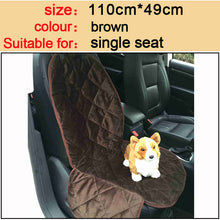 Quality Plush pet car seat cover hammock