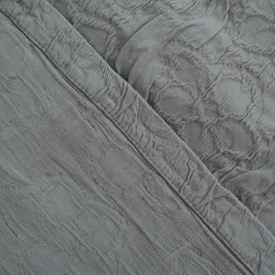 Cubrecama Matelasse Stone Washed Chantal King Verde