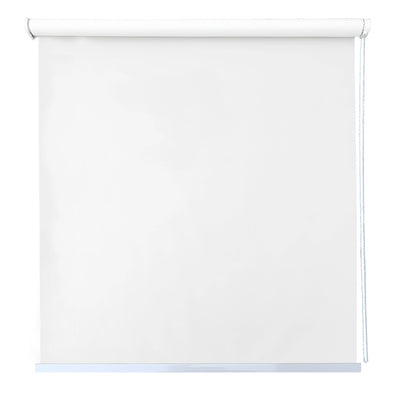 Cortina Roller BlackOut Basic 120x230cm Blanca