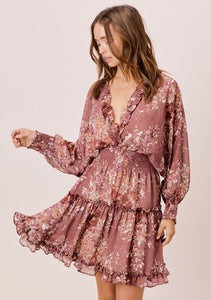 Mauve Ethereal Dress