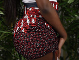 BanKola Ankara Red/White/Black Bum Short