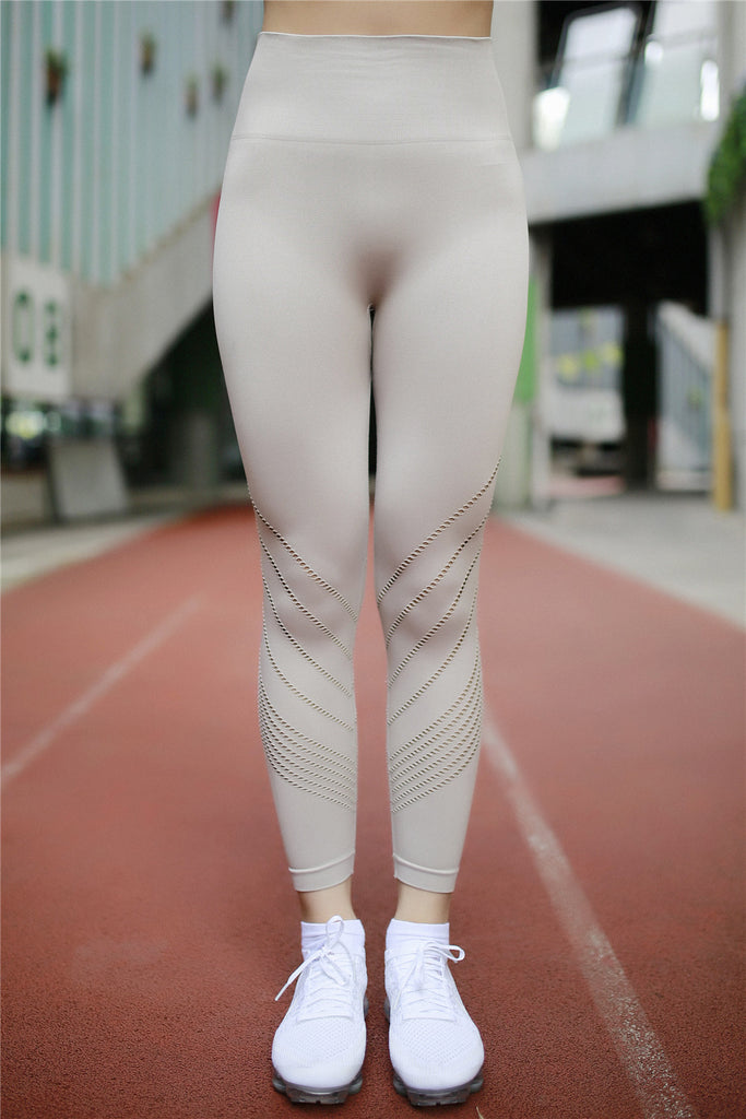 Yoga leggings Cream