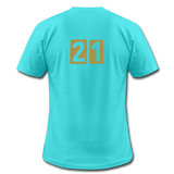 Men's T-Shirt Bella + Canvas - aqua