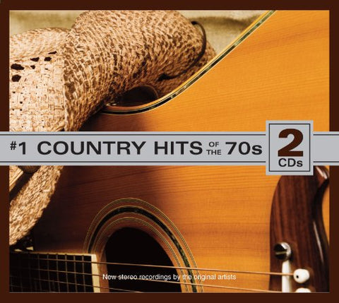 #1 Country Hits Of The 70S (2 Cd Set) By Various (2011-11-15)
