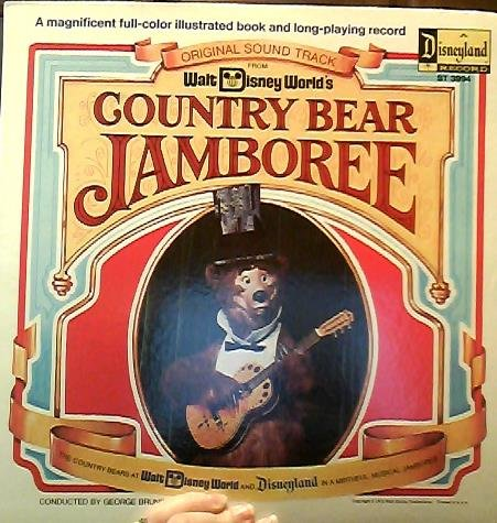Walt Disney World'S Country Bear Jamboree, With Attached Booklet