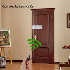 Smart Security : Electronic Door Lock Phone Remote Control and Finger