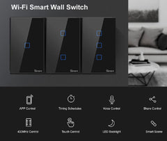 Smart Switch : Touch Wall
