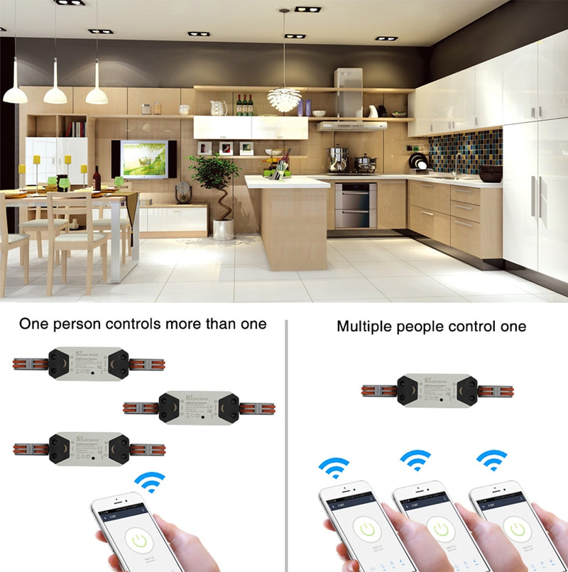 Smart Switch : light and multi purpose