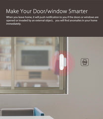 Smart Sensor : for Door and Window No HUB Required