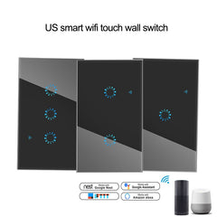 Smart Switch : Wall Touch Switch 1 2 3 Gang light Switch