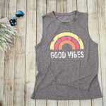 Good Vibes Summer Tank Top Womens