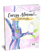 Load image into Gallery viewer, 2021 Energy Almanac...REAL INK. SPIRAL BOUND.