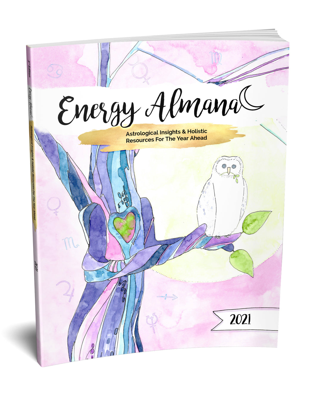 2021 Energy Almanac...REAL INK. HARDCOVER.