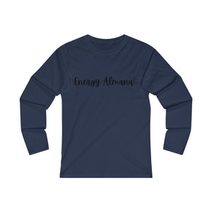 Energy Almanac' Women's Fitted Long Sleeve Tee