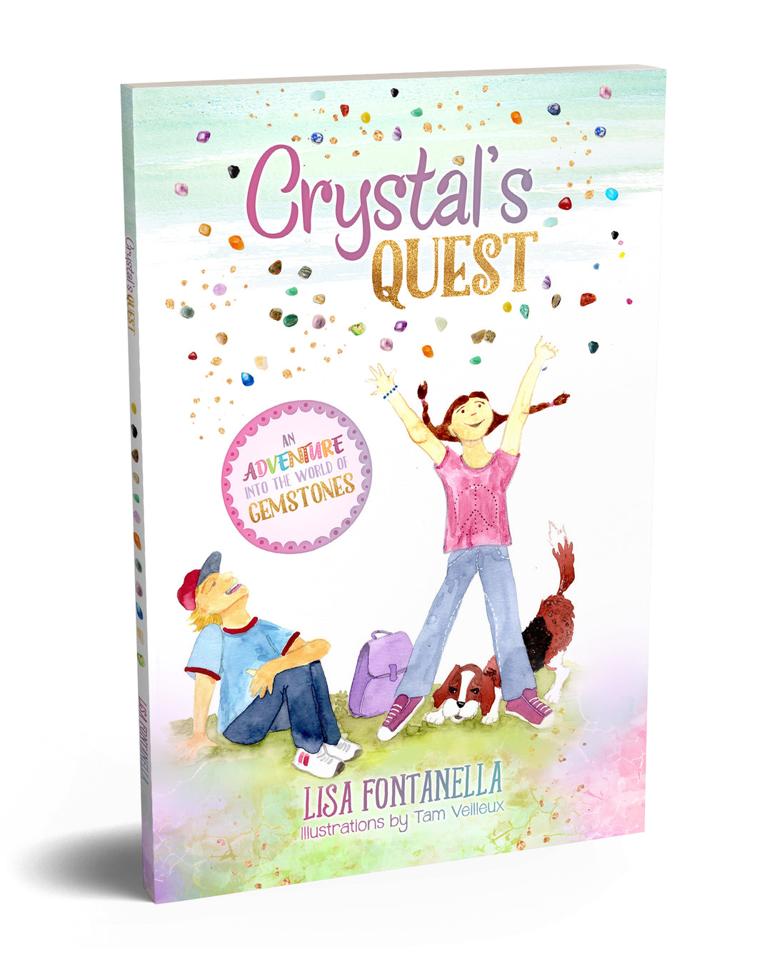 Crystals Quest: An Adventure into the World of Gemstones