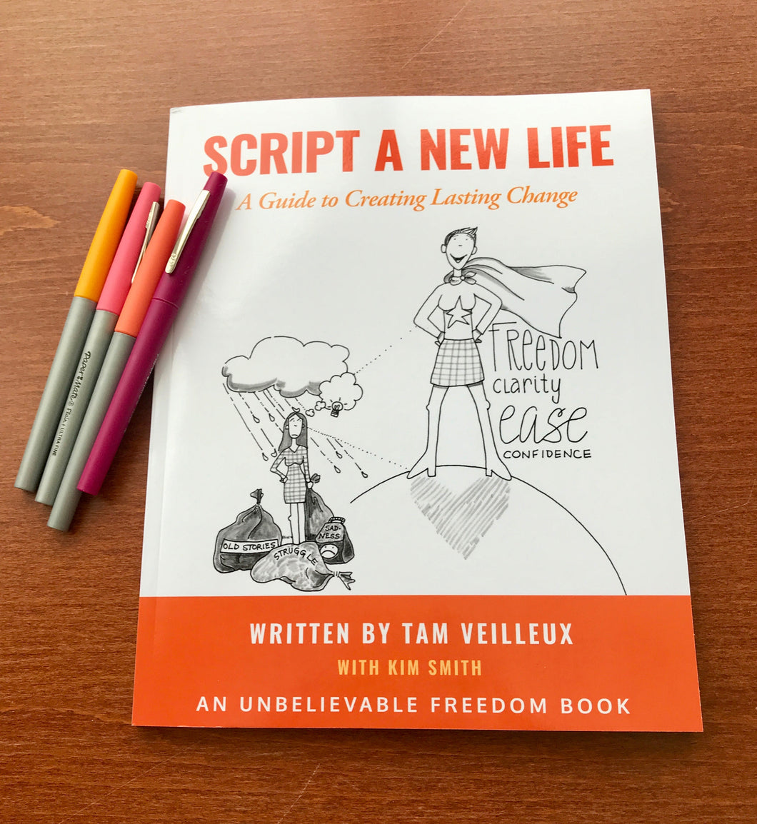 Scripting A New Life...The Workbook