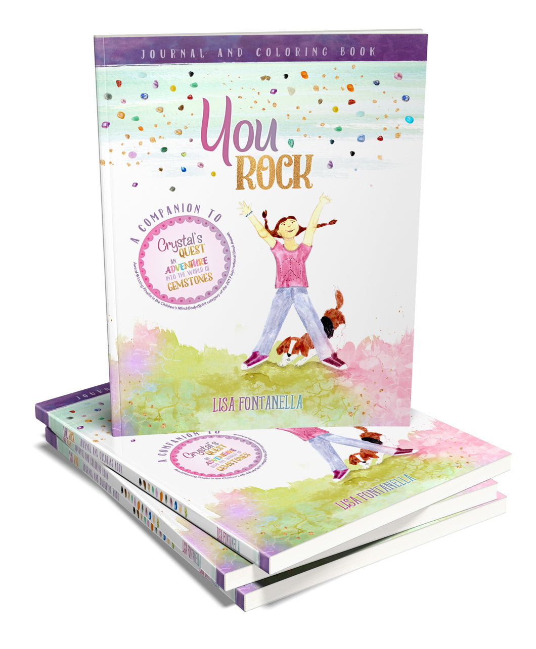 You ROCK! Journal and Coloring Book