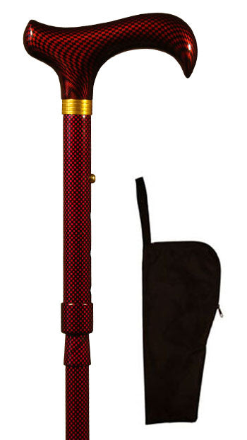 Chess Design Adjustable Walking Stick