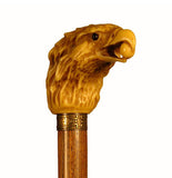 Cast Resin Eagle Head Collectable Walking Stick 37 inches