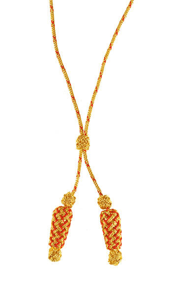 Gold & Red Admiral Silk Braid