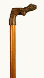 Bronze Mounted Walking Cane