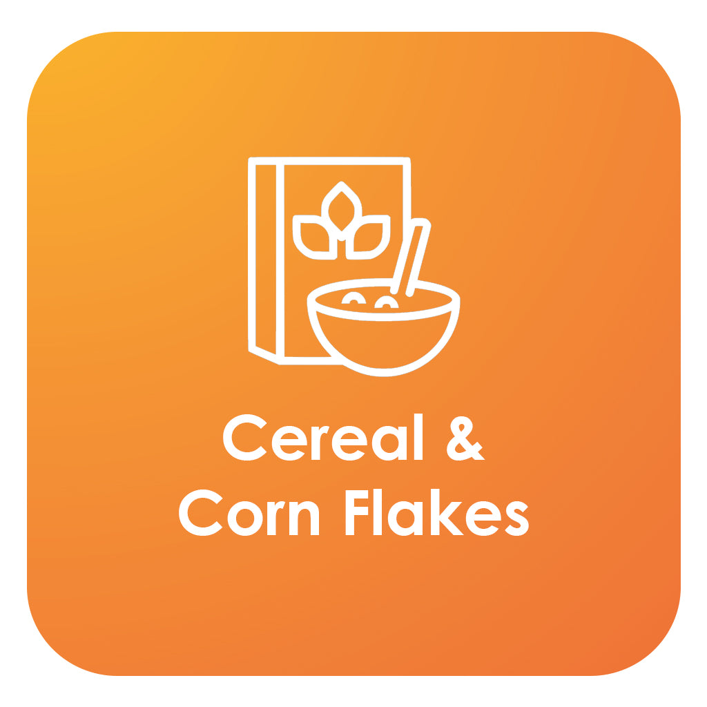 cereal and corn flakes
