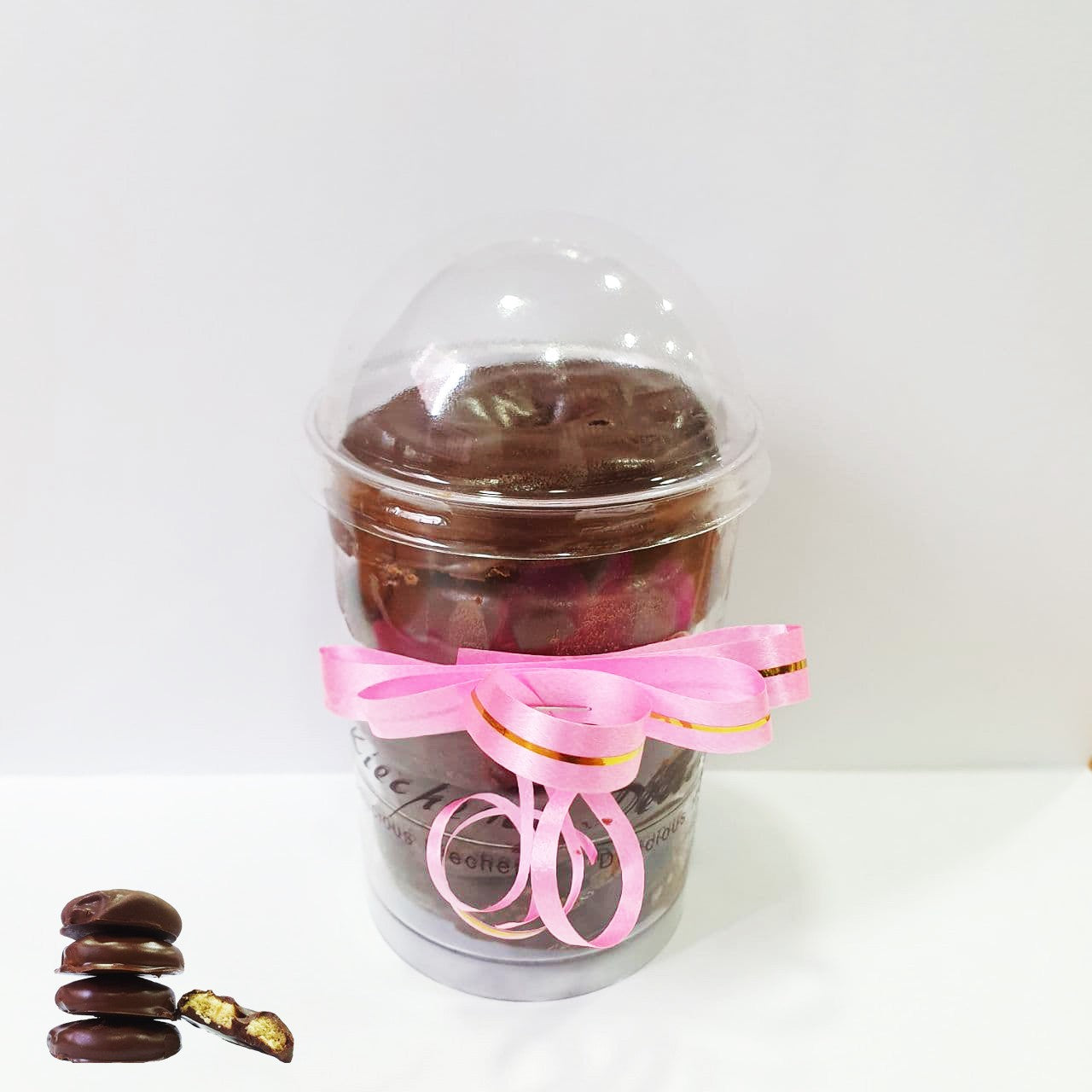 Chocolate Butter cookies (5pcs Jar)