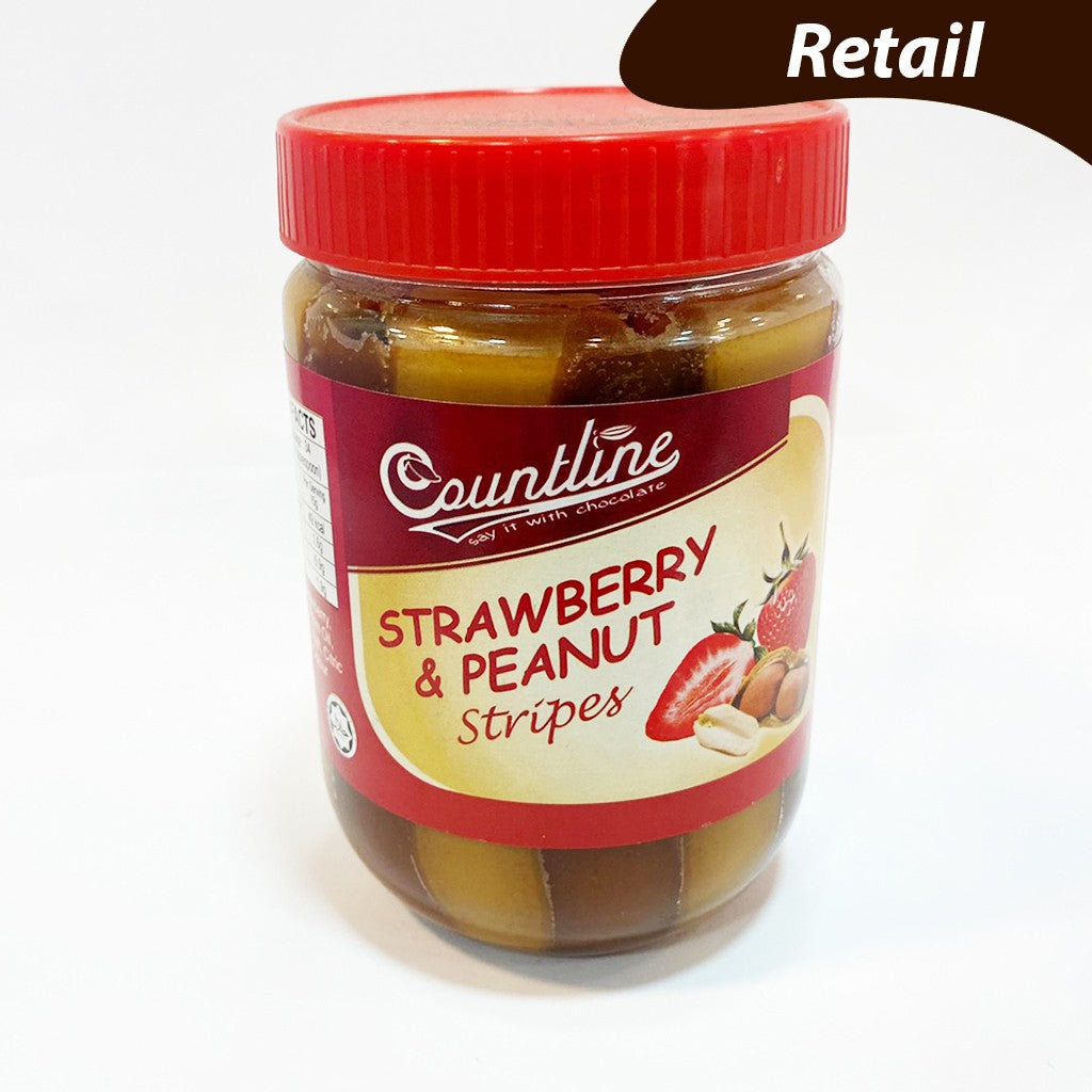 CNL Stripes Peanut & Sberry - 510gm