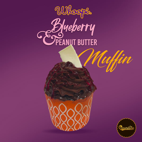 Whoopi Blueberry & Peanut butter Muffin