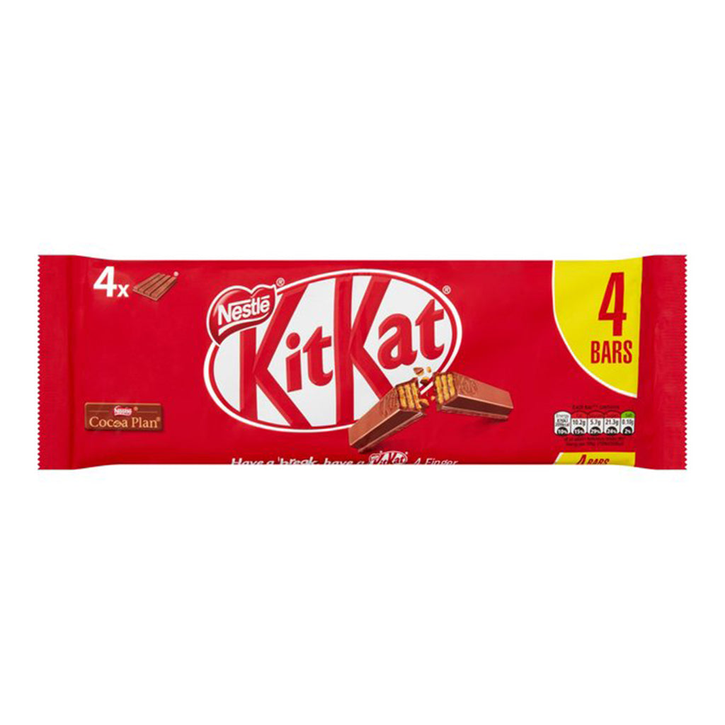 Kit Kat 4 Finger Multi Pack  (3  x 41.5g)