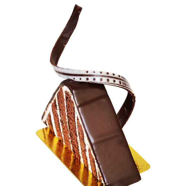 Chocolate Triangle Slice  (Chocolate)  2pcs
