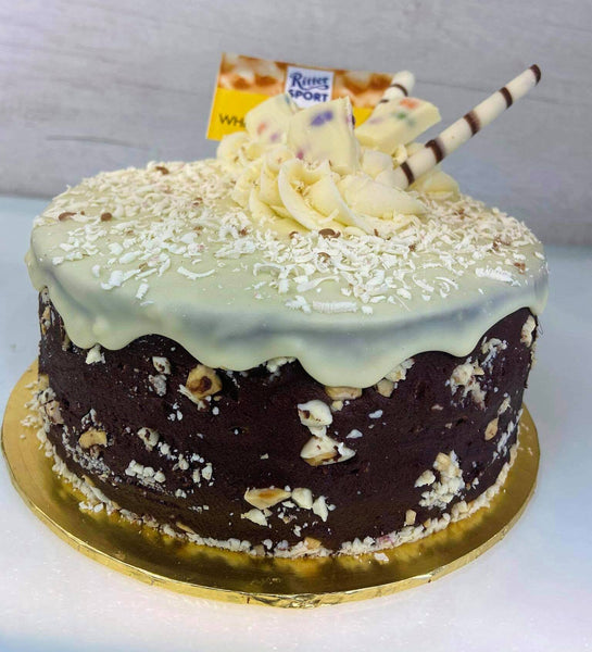 Ritter Sport White Whole Hazelnut Cake