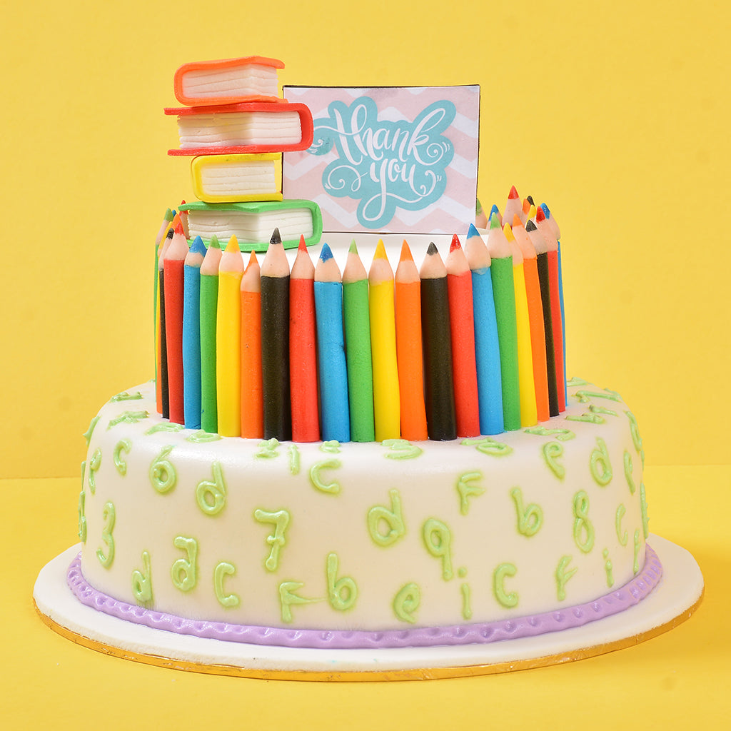 Teachers day special cake