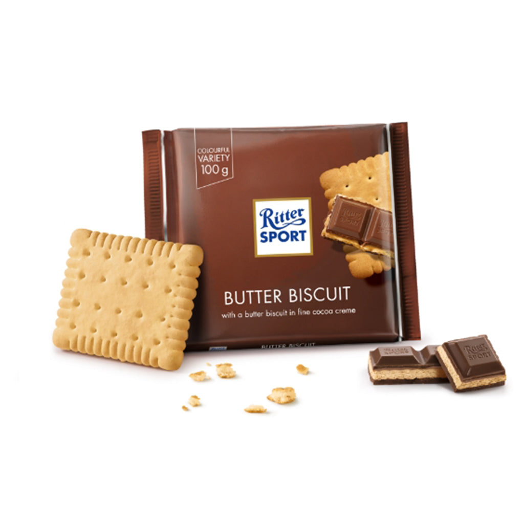 Ritter Sport Colour Butter Biscuit  100g