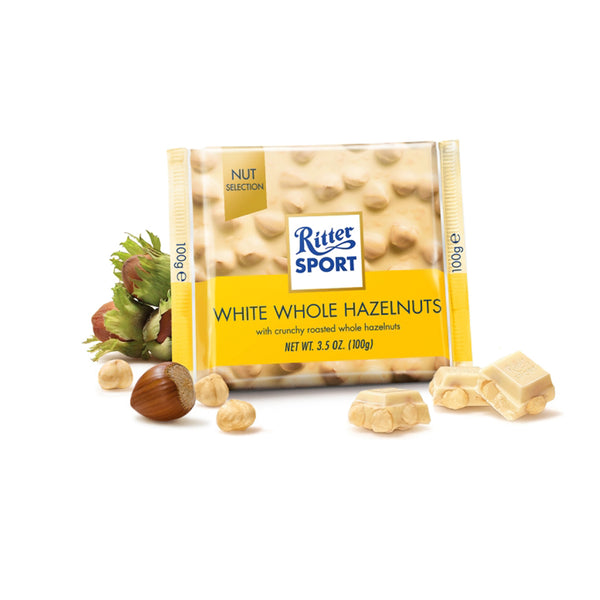 Ritter Sport Nut Perfect White Whole Hazelnut 100g