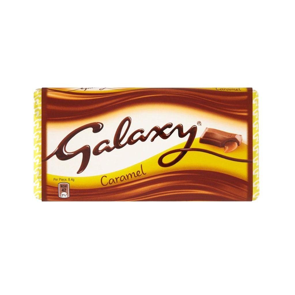 Galaxy Block Caramel 135g